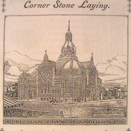 CORNERSTONE LAYING FOR 1900 CHURCH